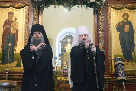 В Свято-Троицком храме состоялась праздничная литургия