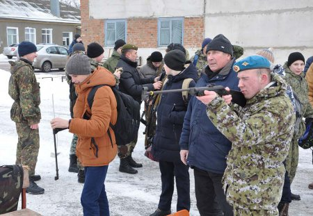 В Алексеевской спортивно-технической школе ДОСААФ России прошёл день открытых дверей
